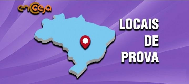 Local de Prova Encceja 2019