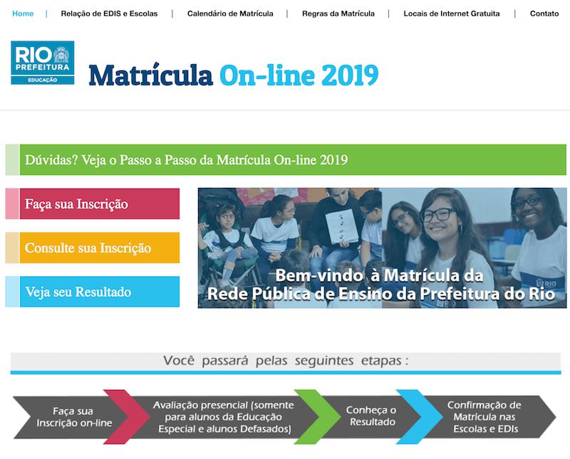 Programa Matrícula Rio