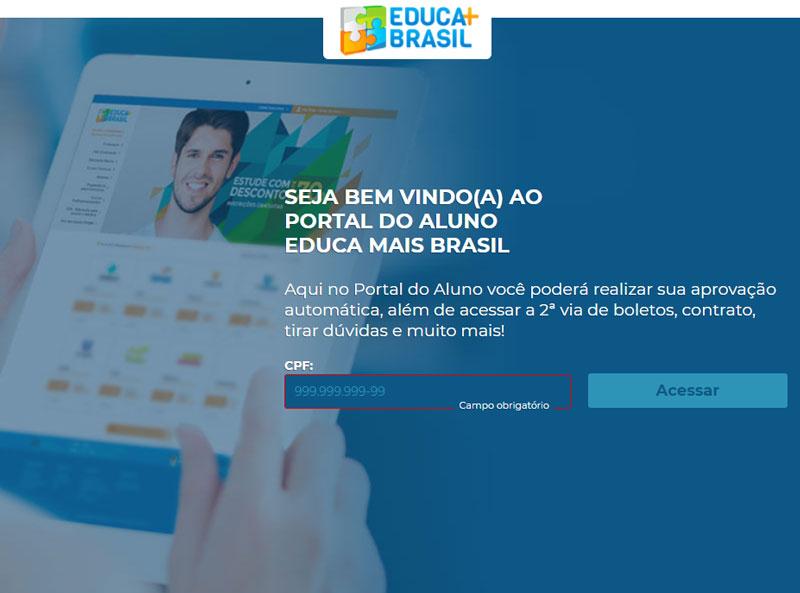 Portal do Aluno Educa Mais Brasil